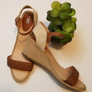 Cato Wedge Sandals